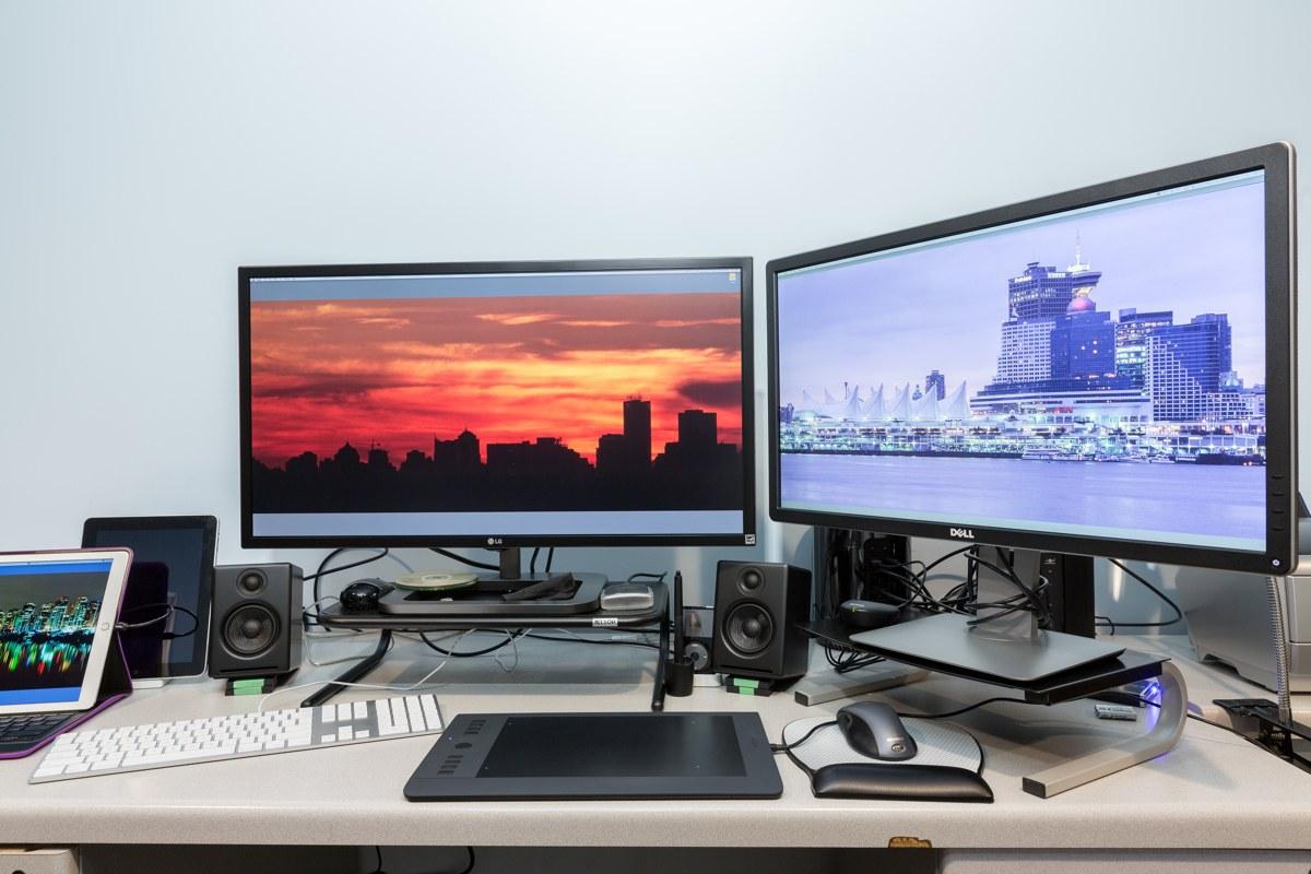 Edwin Leong's Mac Pro setup
