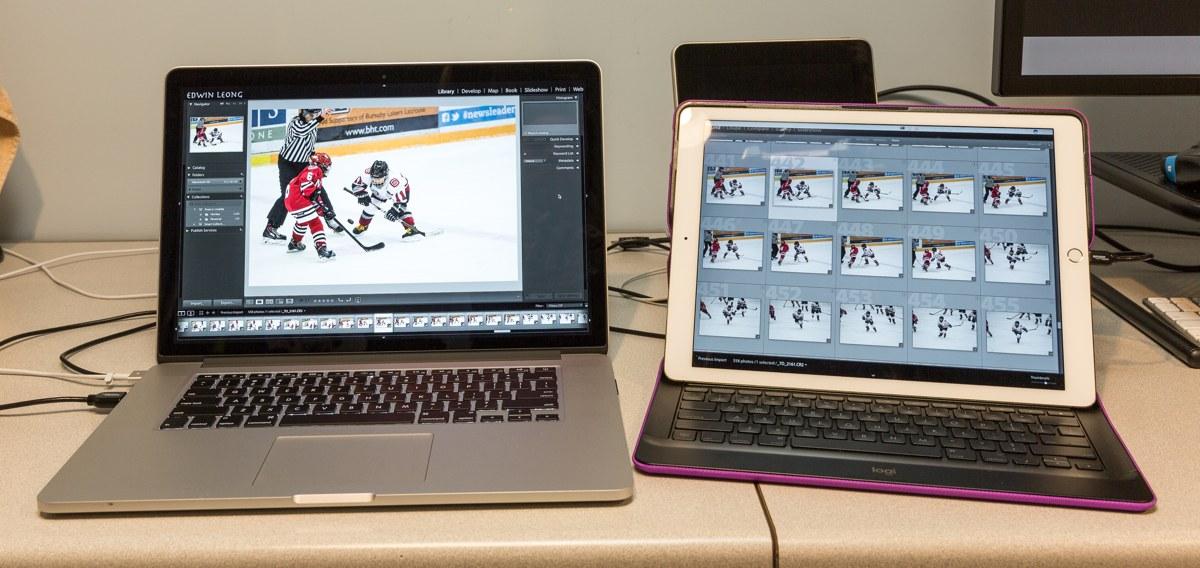 Edwin Leong's MacBook Pro and iPad