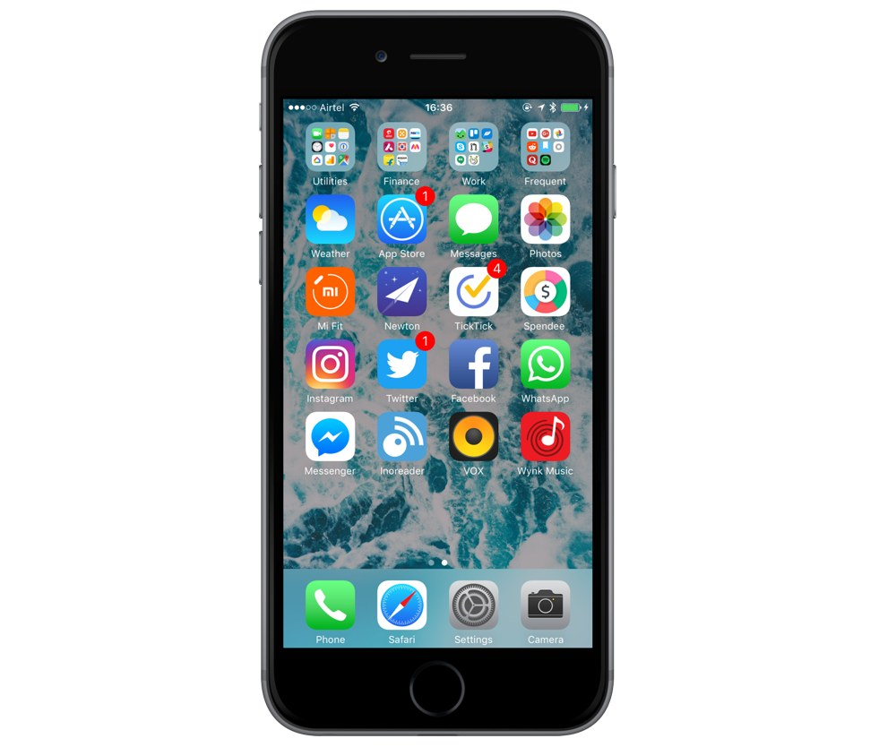 Rishi Mohan's iPhone setup