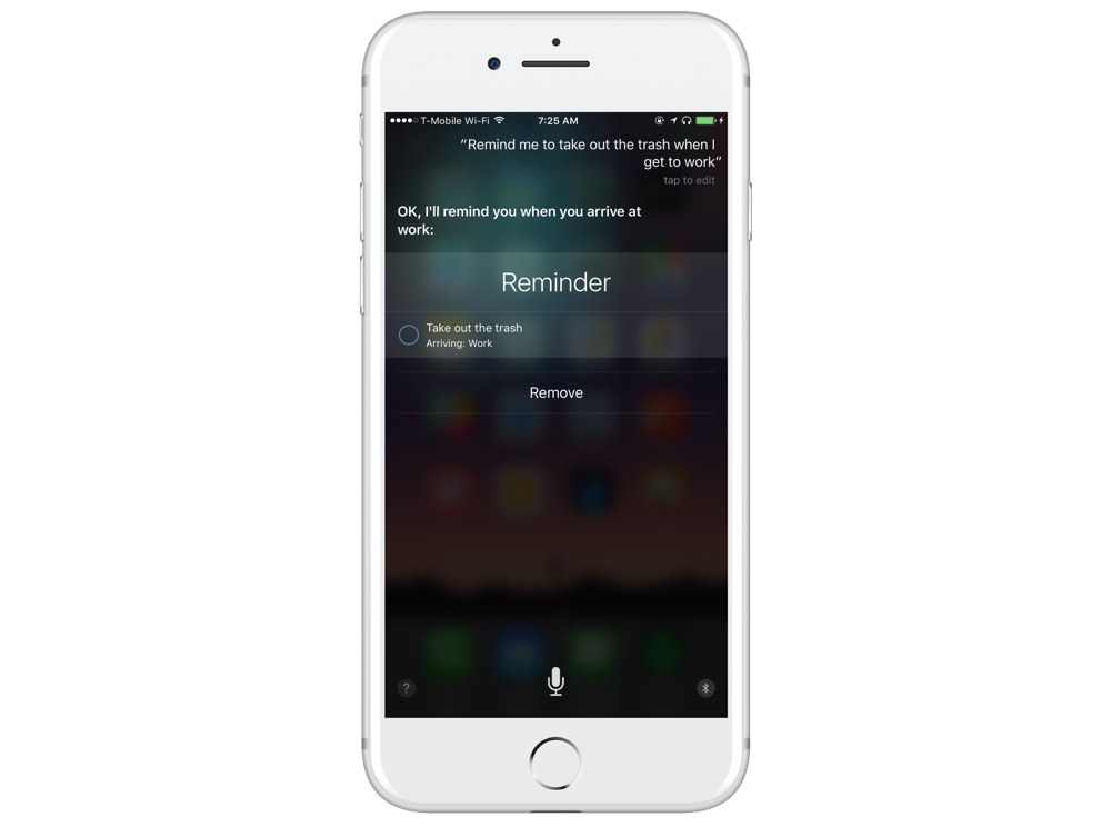 Siri Reminders for specific locations