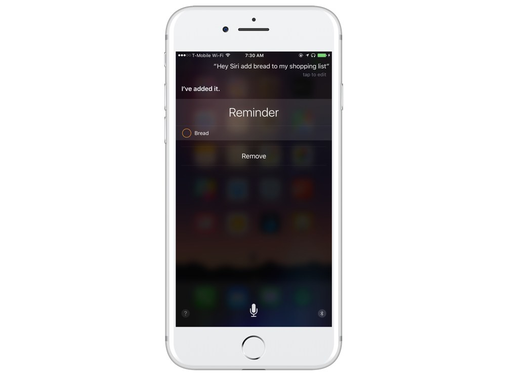 Siri Reminders for a specific list