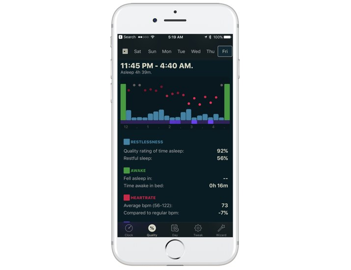 AutoSleep Data