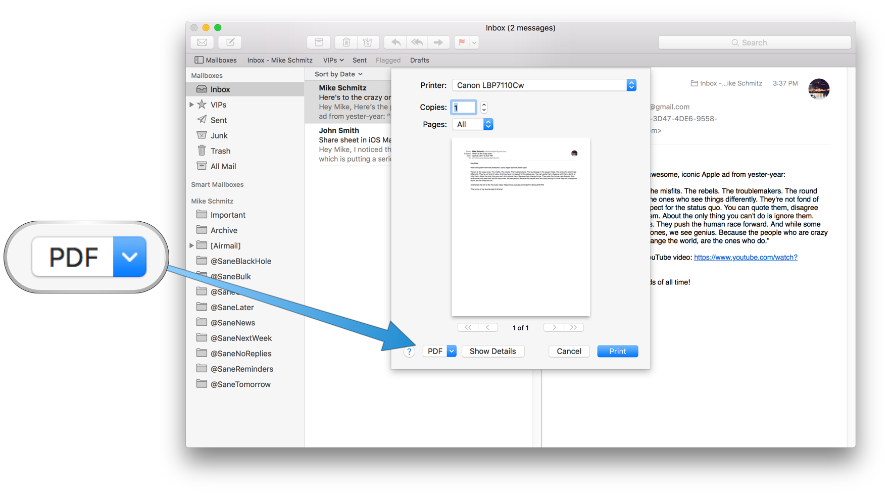 how to turn multiple jpegs into a pdf mac