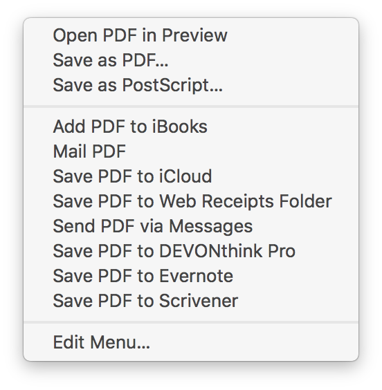 How to save email messages as PDFs on iOS and macOS – The Sweet Setup