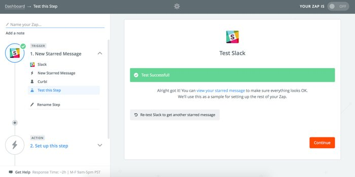 Slack starred item to Todoist