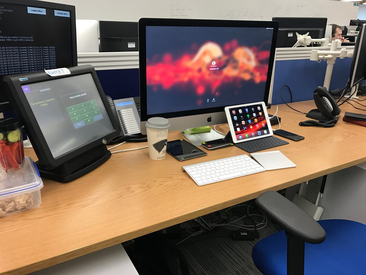 Stephen Biggerstaff's Mac and iOS setup