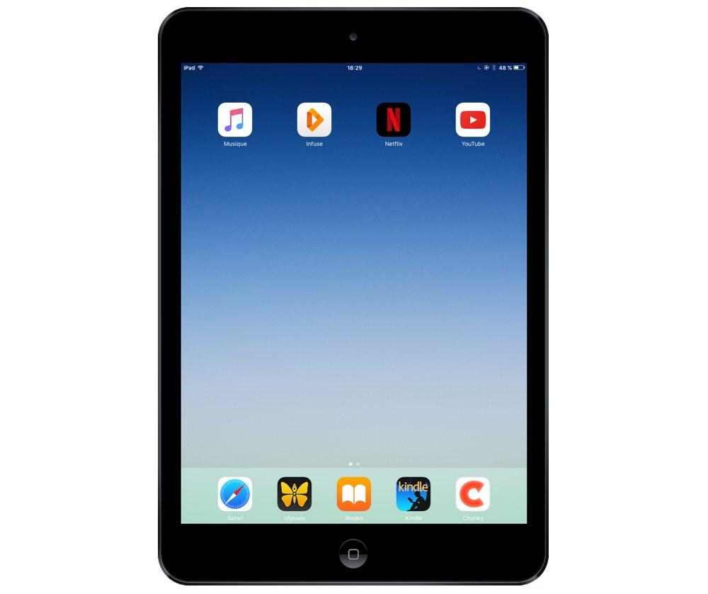 Thibaud De Clerck's iPad