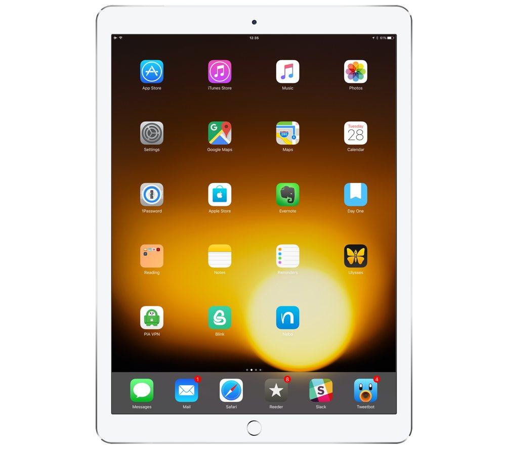 Wojtek Pietrusiewicz's iPad