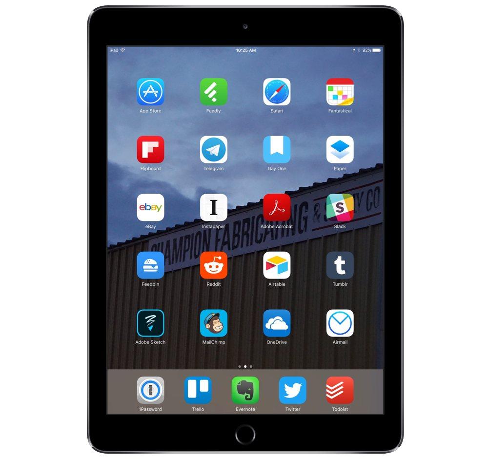 Jowanza Joseph's iPad