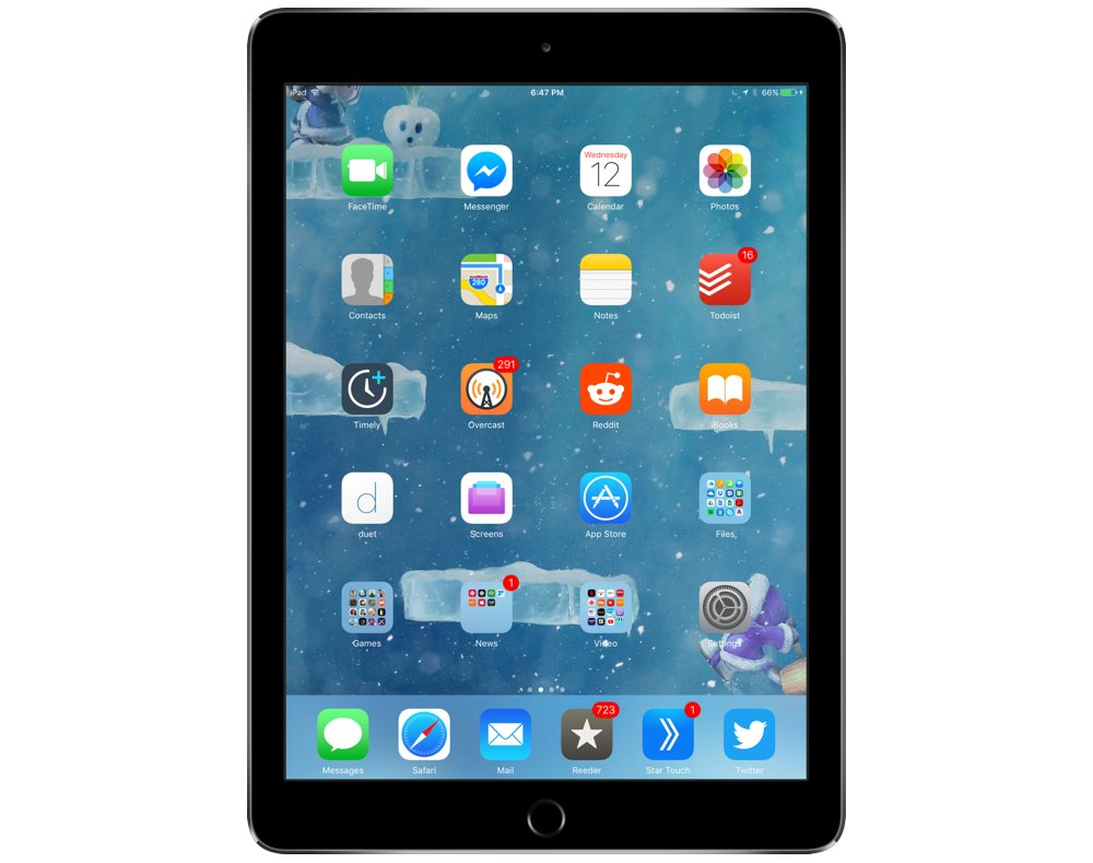 Jacob Terry's iPad Air 2