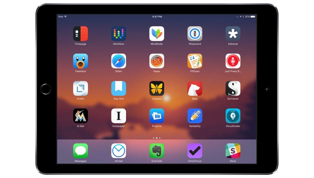 Kris Rojas' iPad