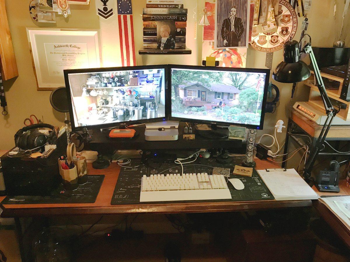 Brian Hendrix's desk