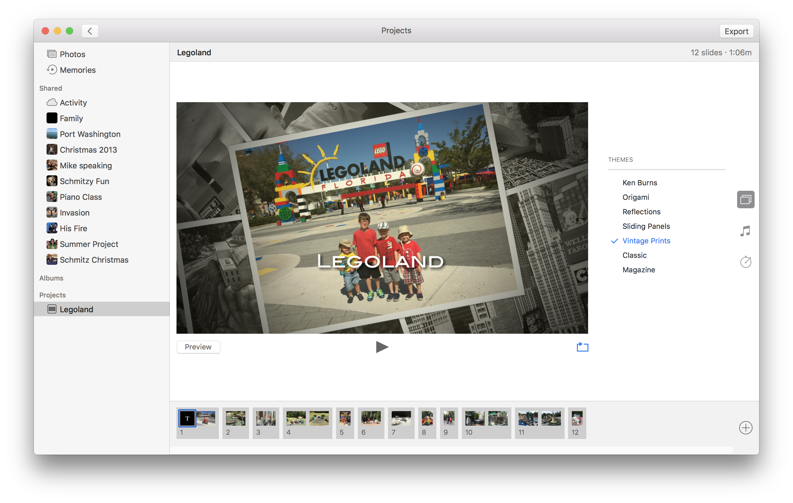 How to Create and Share Slideshows in the MacOS Photos App