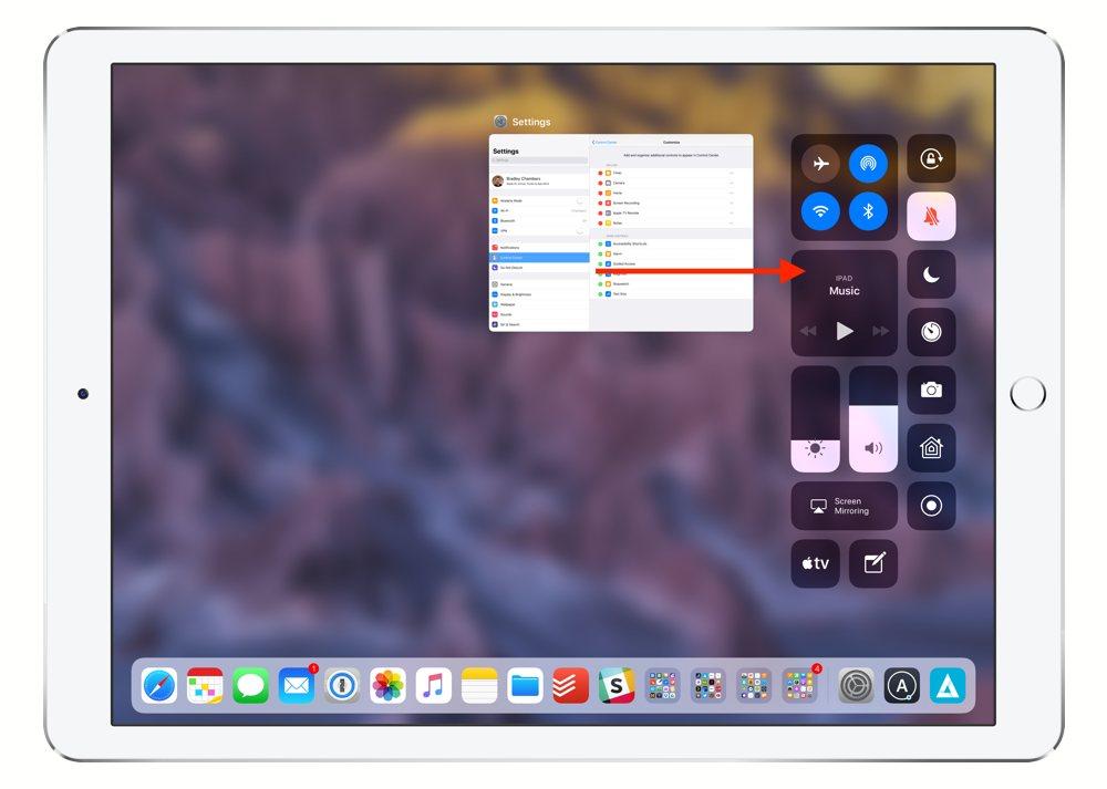 iPad AirPods 1