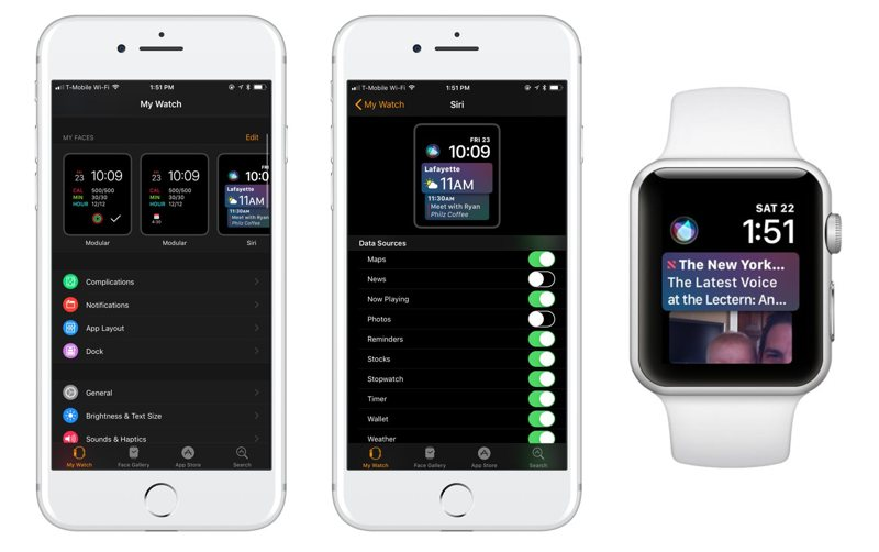 customize the Siri watch face