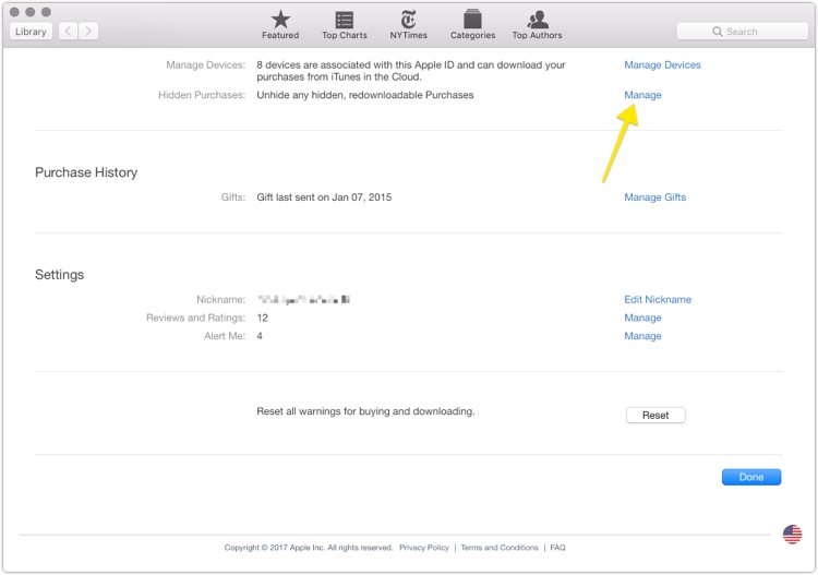 How to hide past iBooks purchases – The Sweet Setup