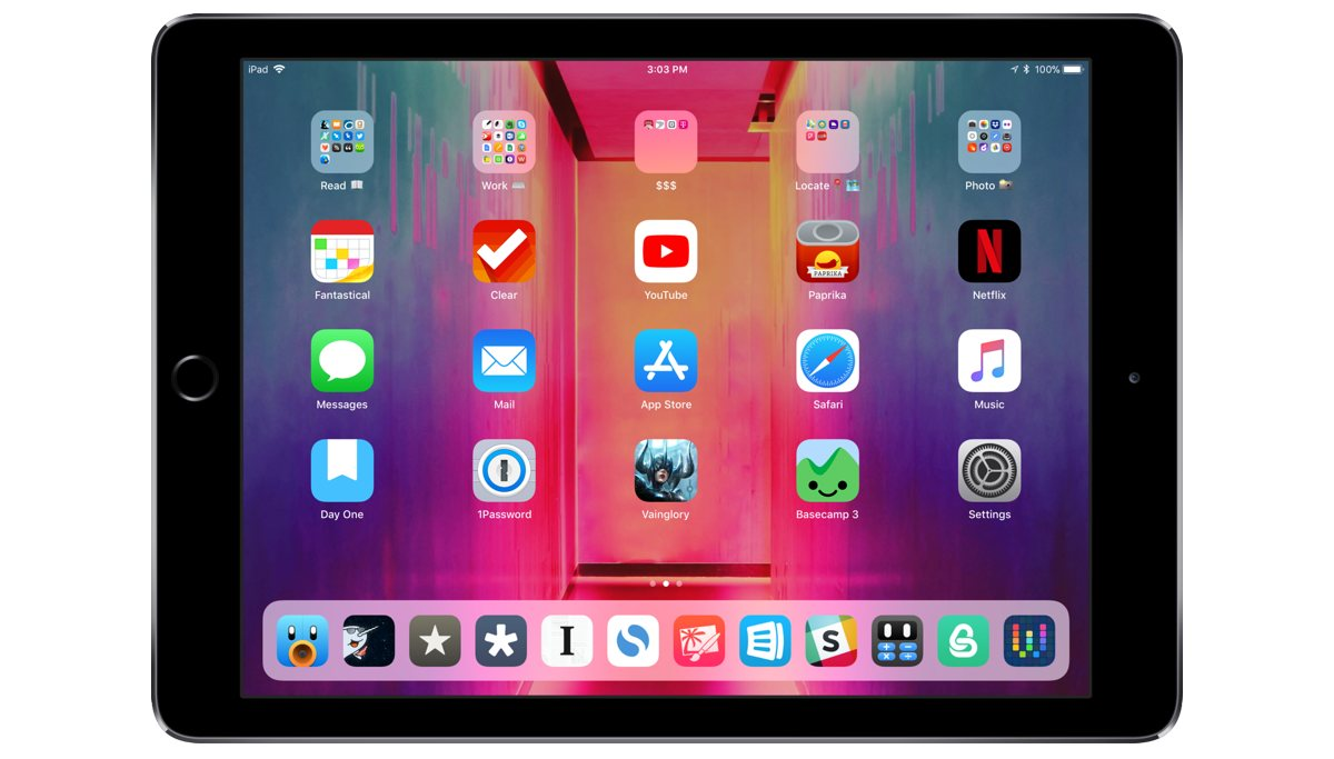 Chris Gonzales' iPad