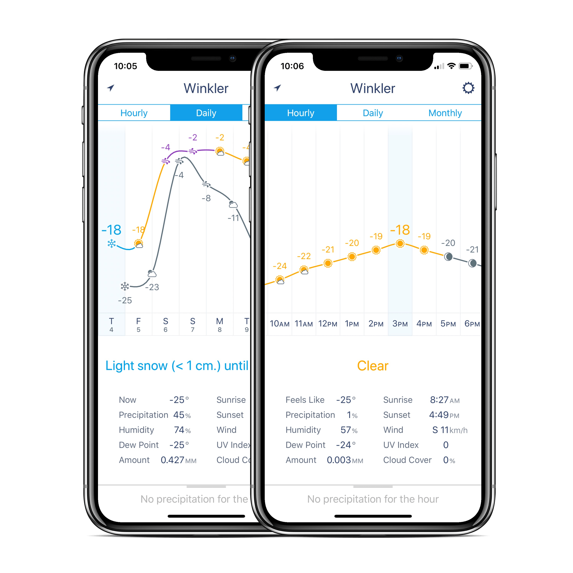 Weather Line updated with iPhone X support and updated Today