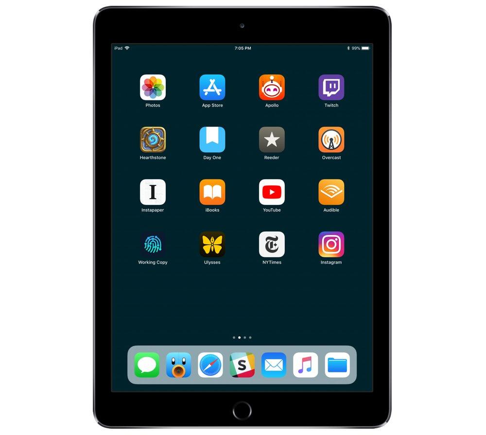 Roger Ogden's iPad