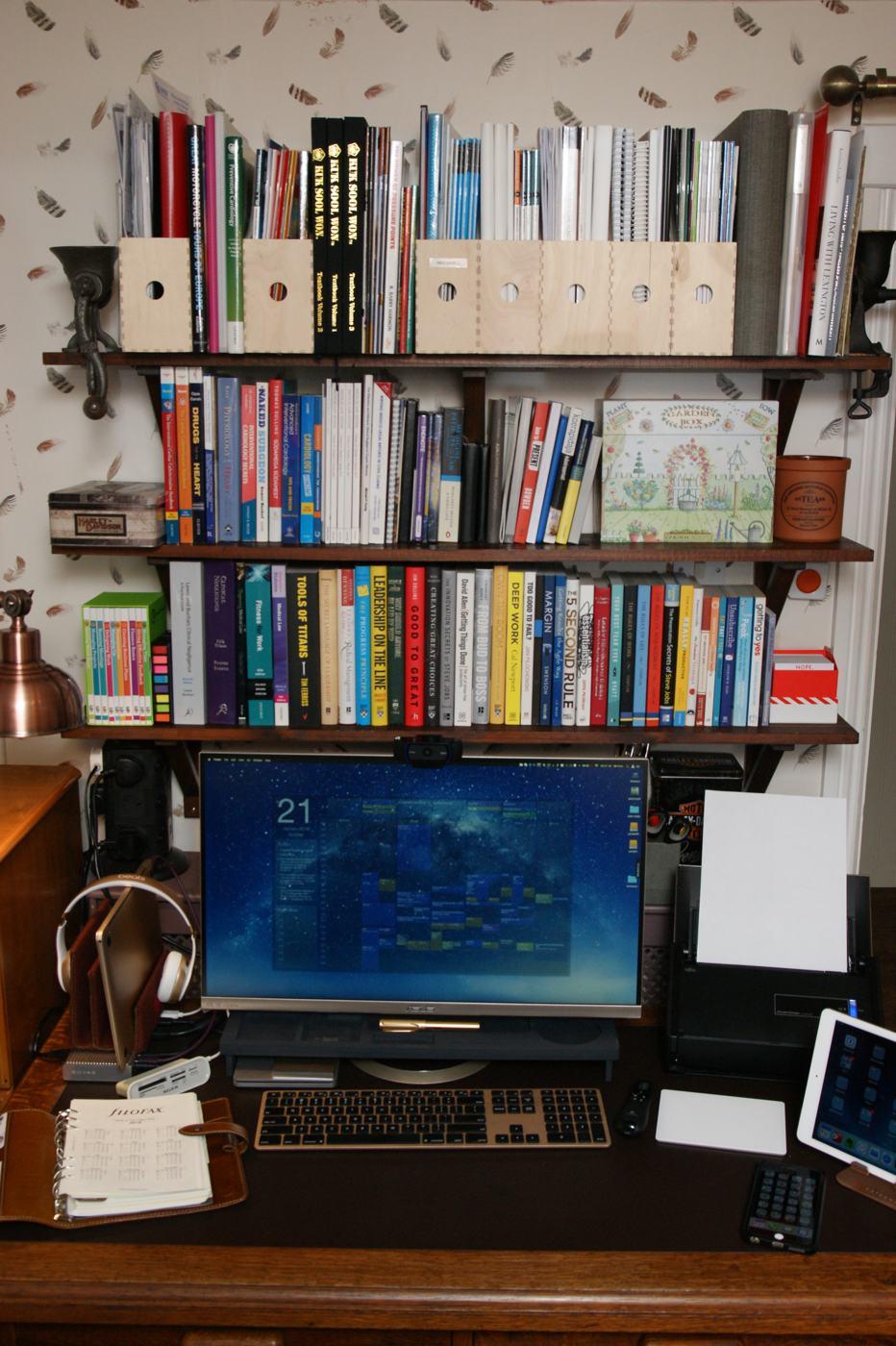 Toomas' desk