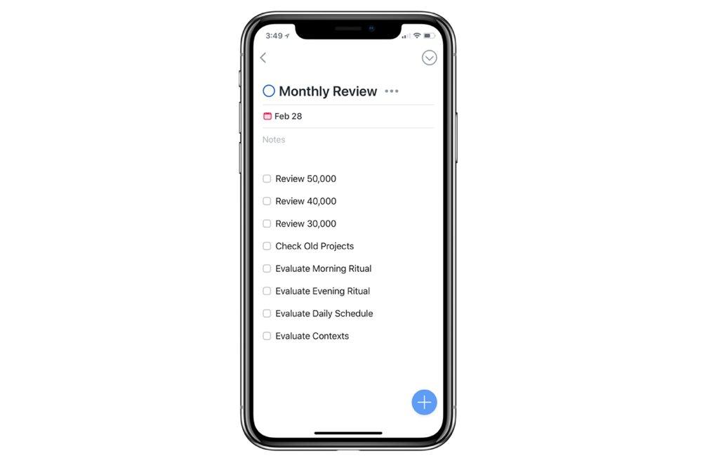 Things iOS Workflows