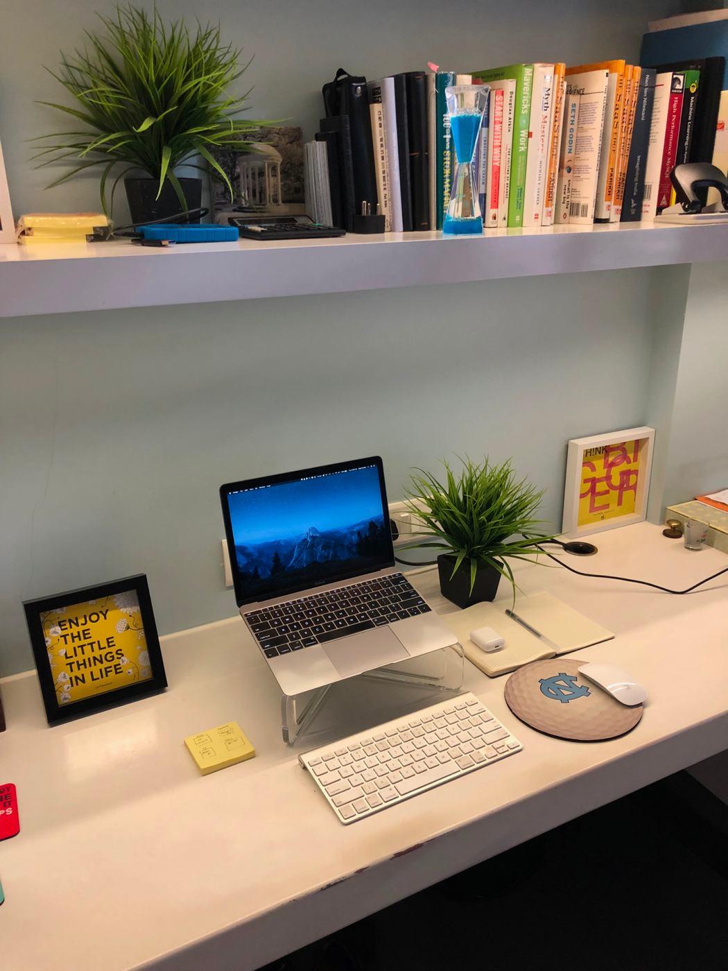 Sahil Parikh's Mac, iPhone, and Watch setup