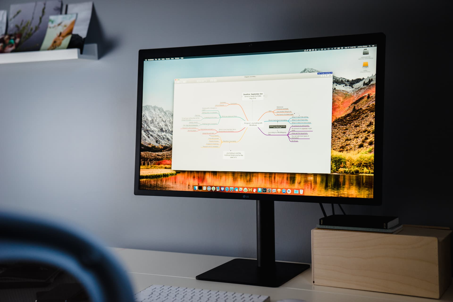 The best mind mapping app for Mac and iOS