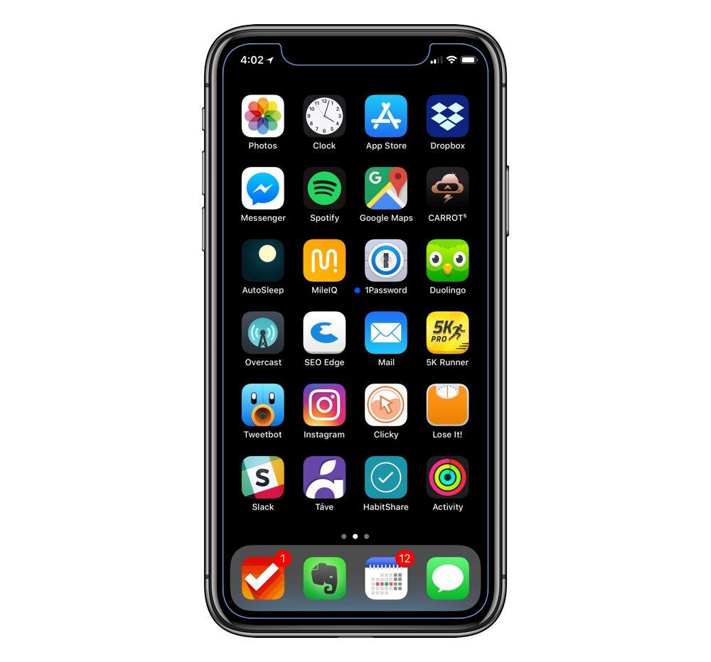 Adam Mason's iPhone X setup