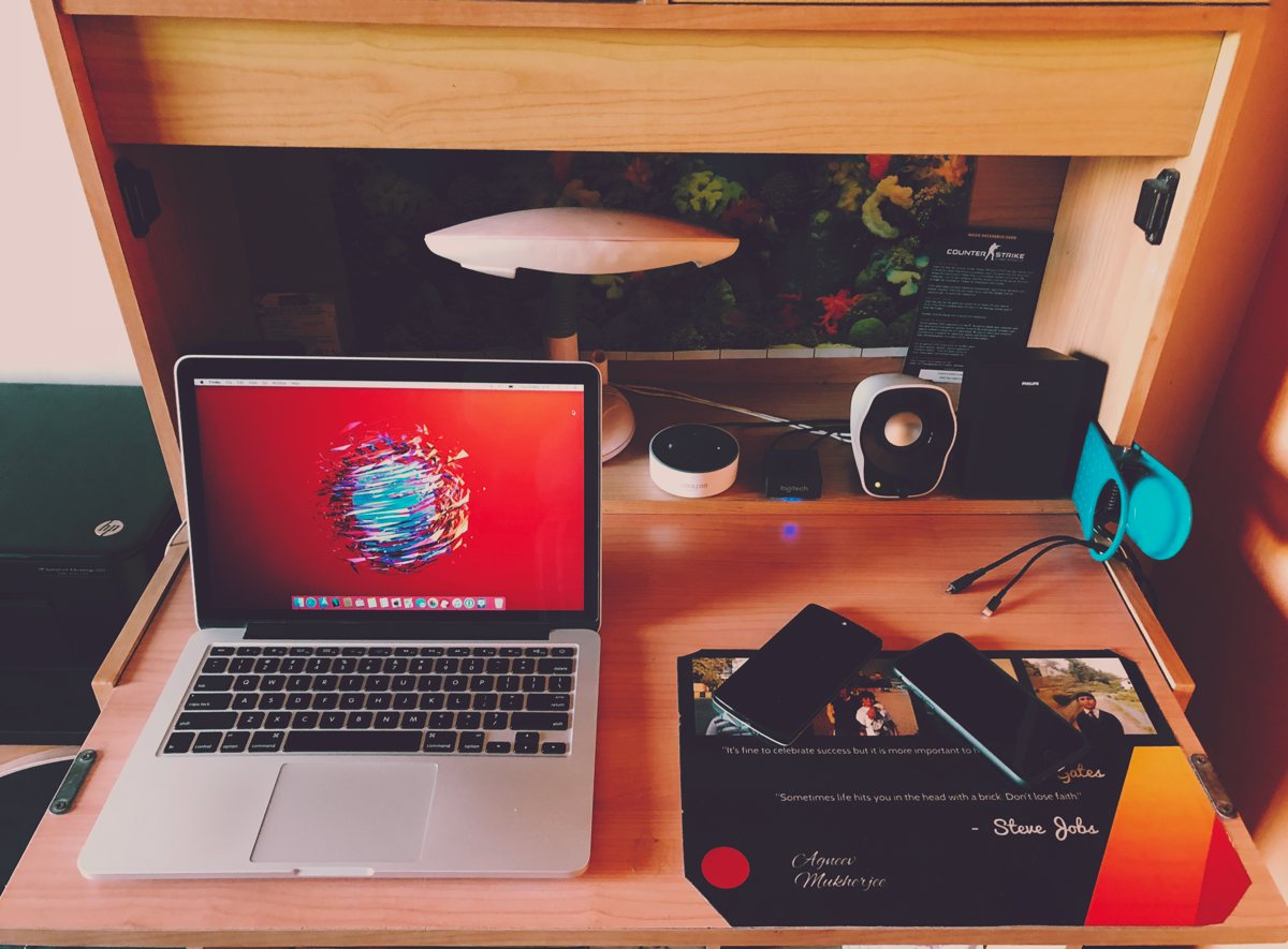 Agneev Mukherjee's Mac and iPhone setup