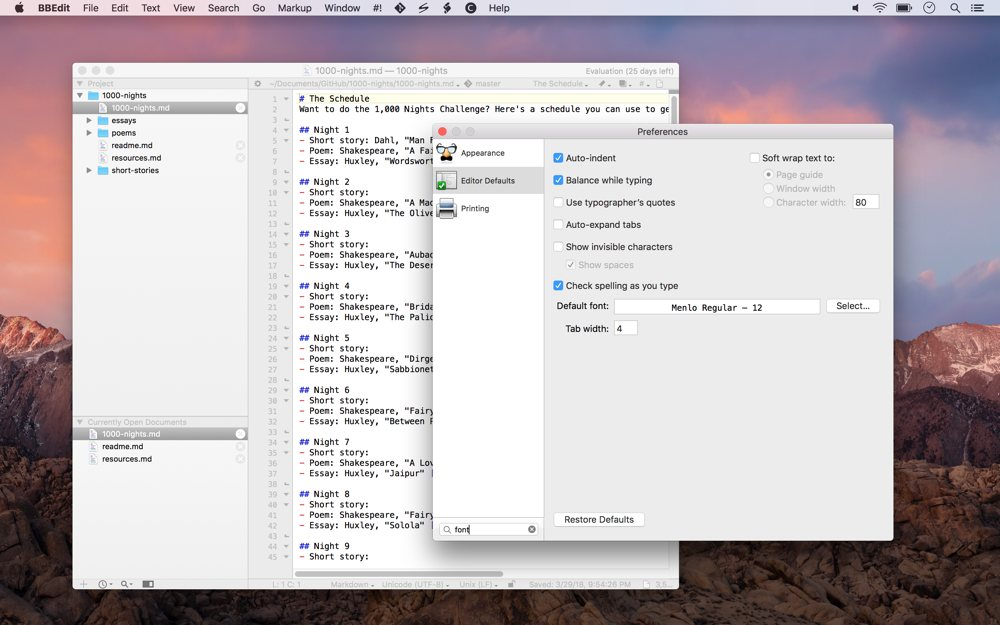 The best text editor for macOS – The Sweet Setup