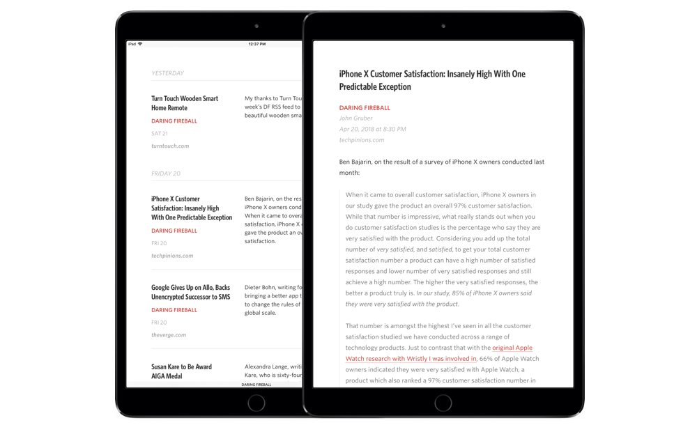 The best rss app for the ipad in the midst of this rss revival or perhaps awakening is a better term we believe slowing down being conscious of the news youre consuming urtaz Choice Image