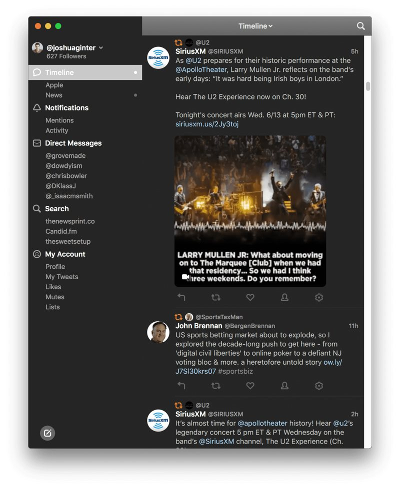 The Twitter app for people who actually use Twitter. Now all-new for macOS.