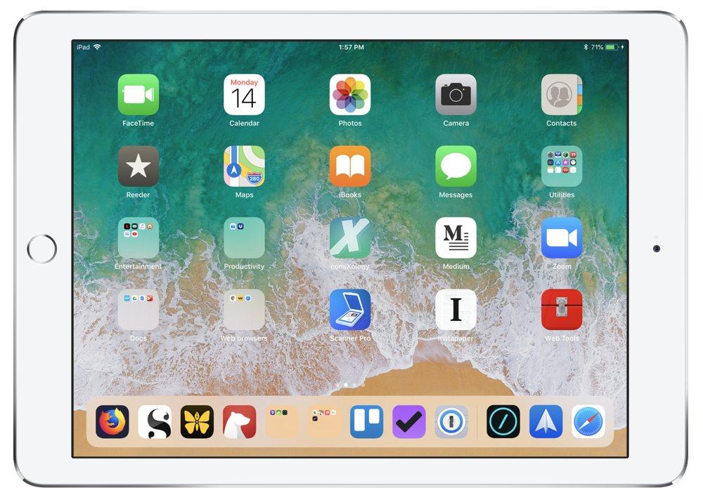 Curtis McHale's iPad Pro 9.7
