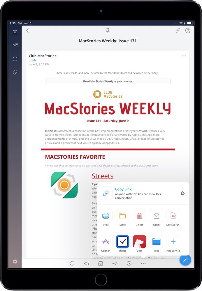 Spark 2 for iPad