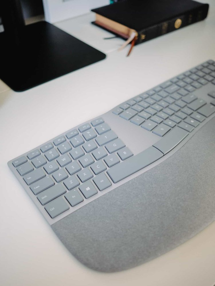 A review of the Microsoft Surface Ergonomic keyboard – The Sweet Setup