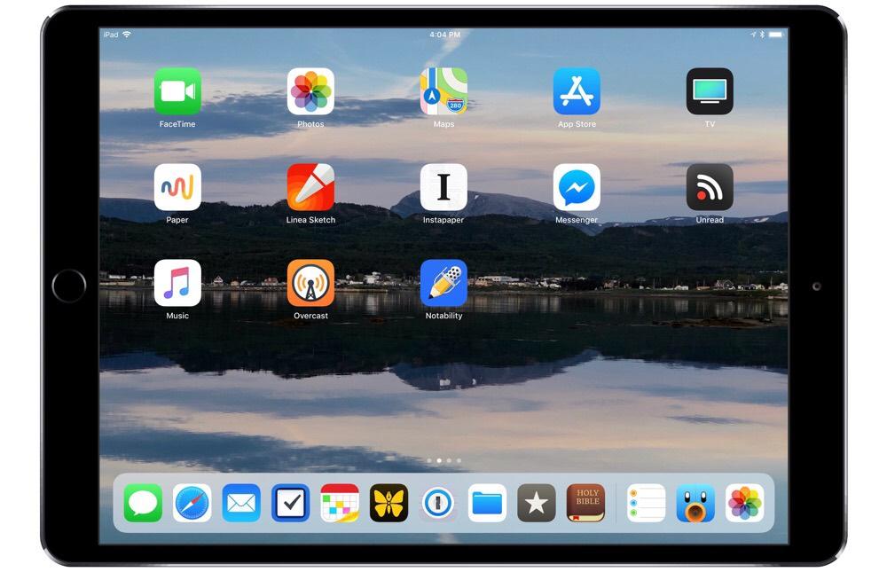 Nathan Snelgrove's iPad Pro