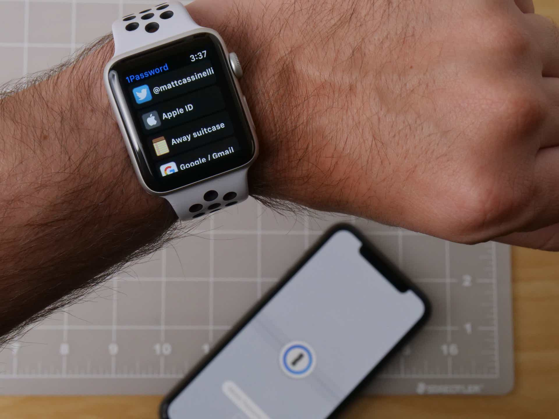 1Password Apple Watch