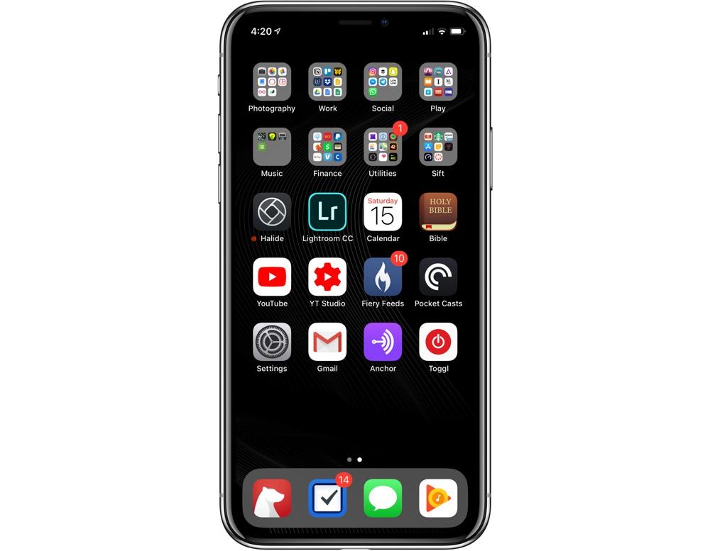 Jackson Hayes' iPhone