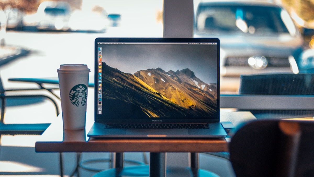 Jackson Hayes' MacBook Pro