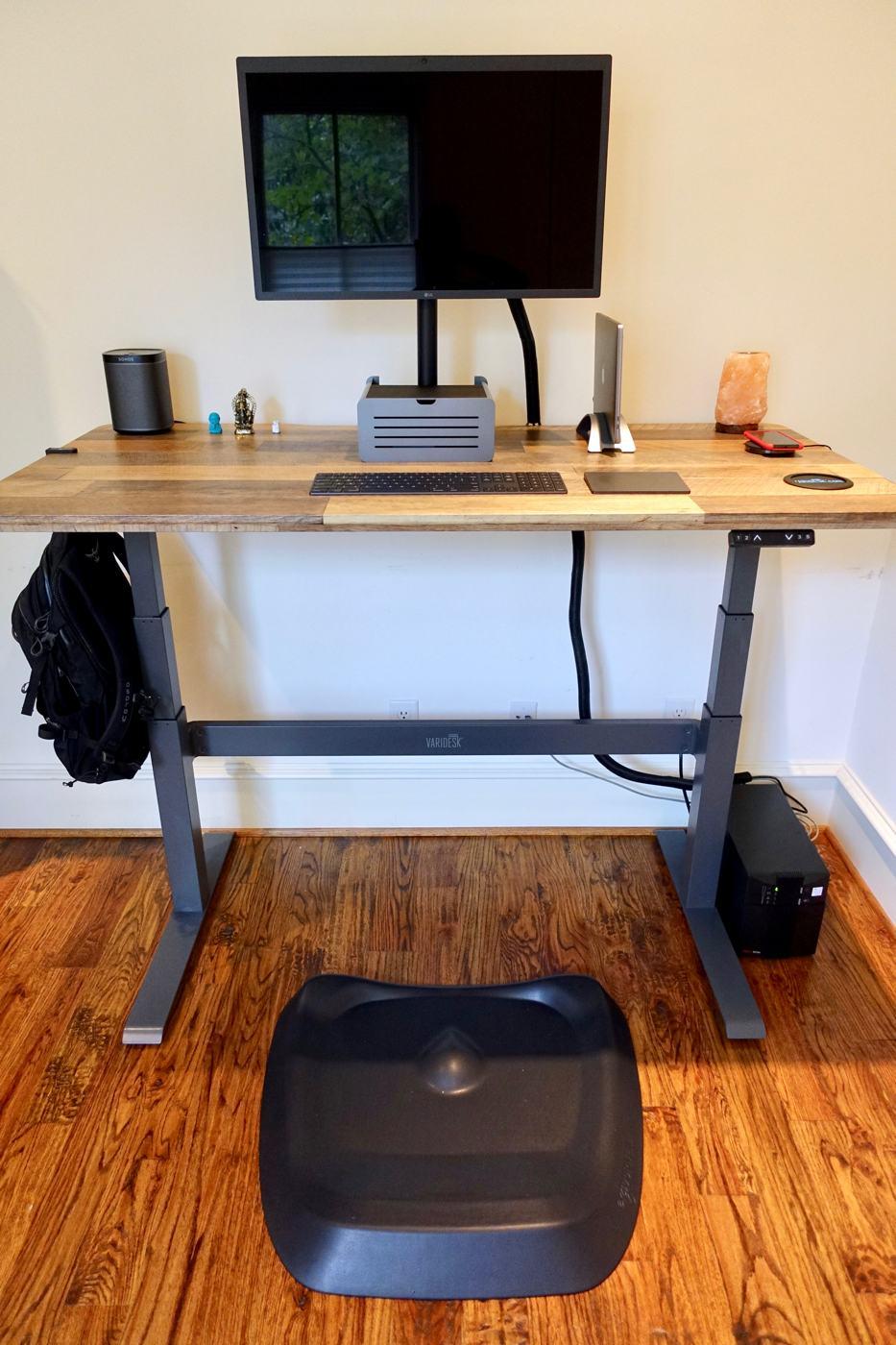 Justin Kaplan's desk