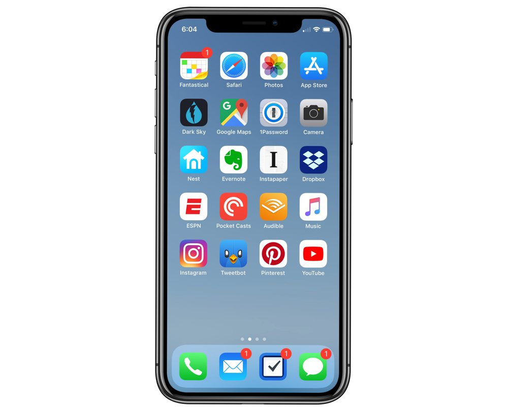 Justin Kaplan's iPhone XS