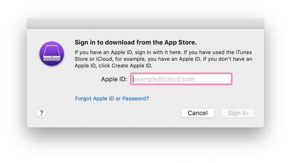 Sign into your iTunes account in Apple Configurator 2