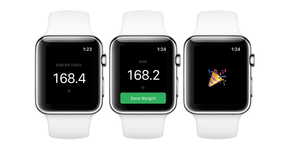 Vekt on Apple Watch
