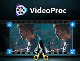 Use VideoProc to convert 4K videos to any format with high powered editing tools. Download from YouTube and screen record.