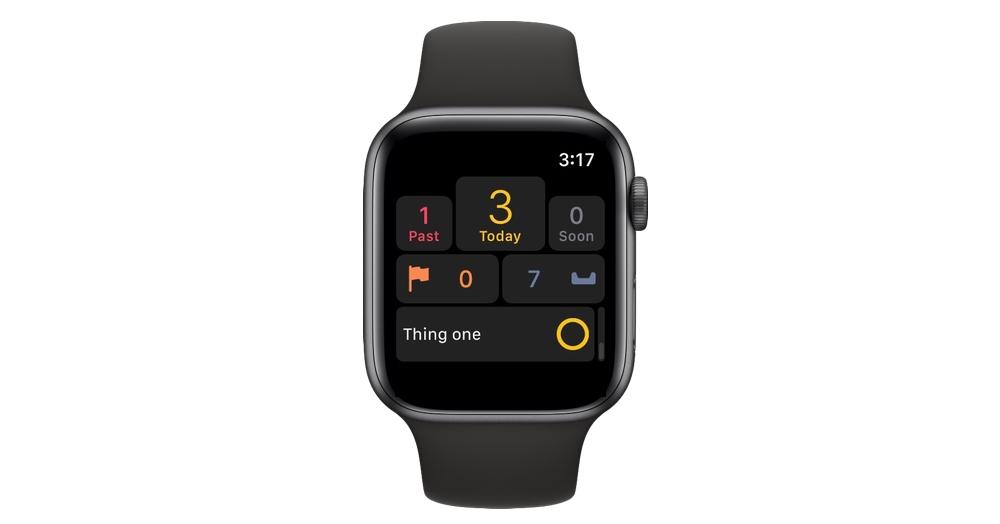 OmniFocus Apple Watch app