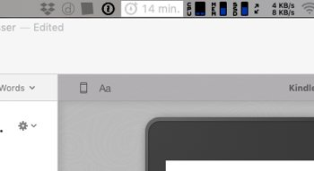 Duet Display menu bar colors and shading issue
