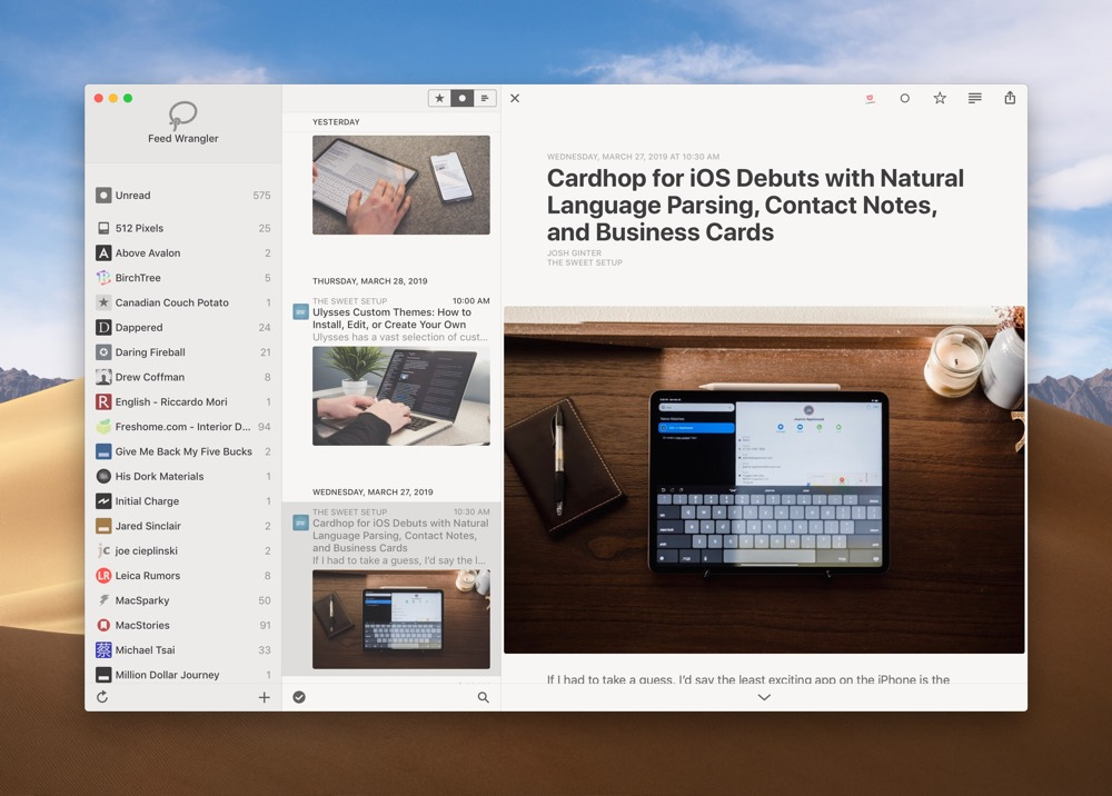 Reeder 4 Debuts for Mac, iPhone, and iPad With Bionic