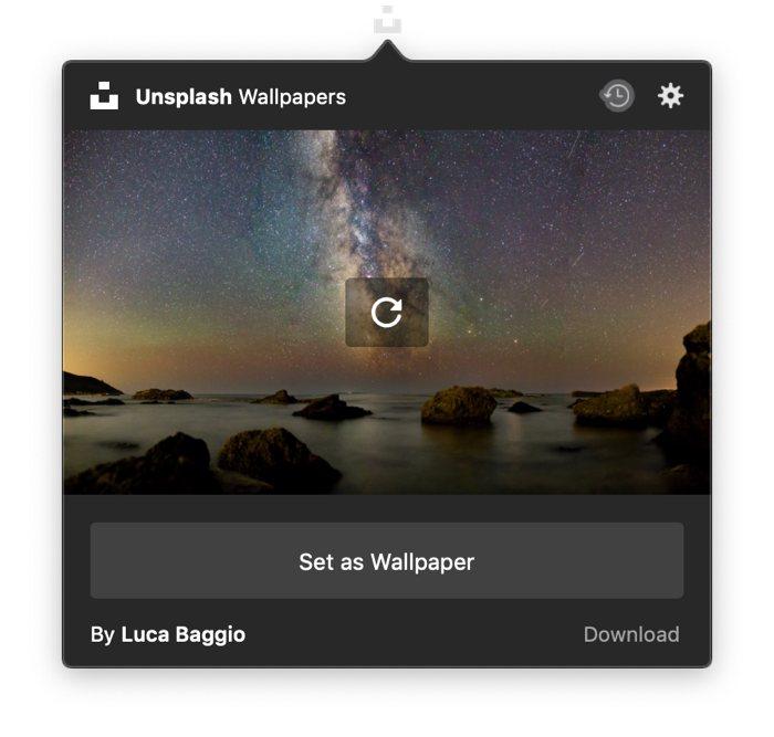 Unsplash Wallpapers for Mac