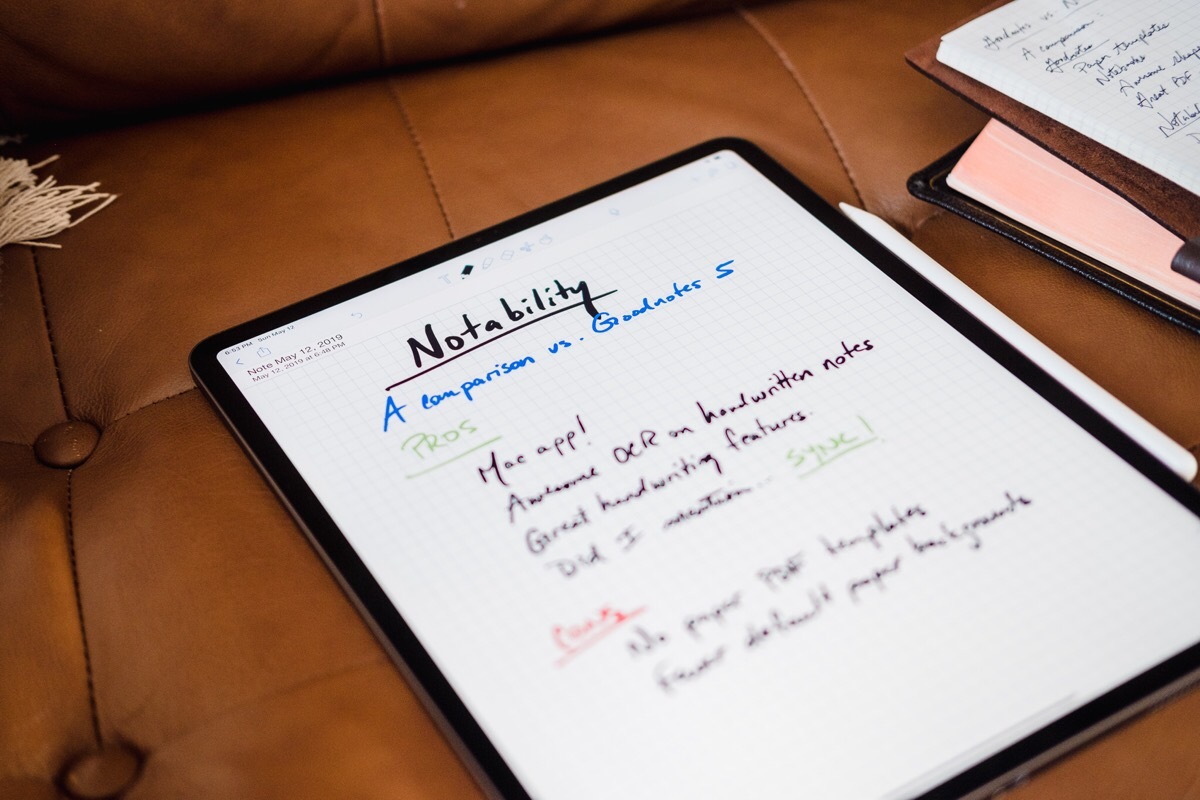 GoodNotes vs Notability Hero