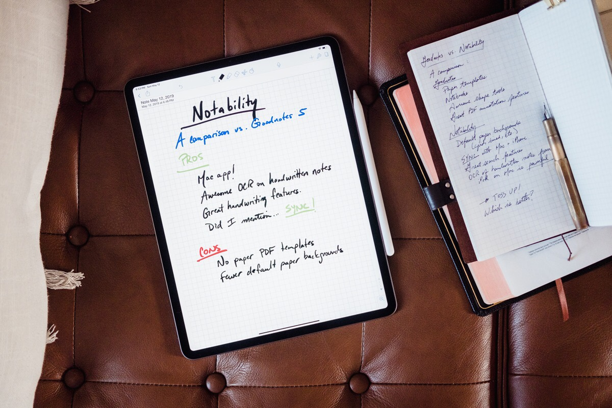 GoodNotes vs Notability